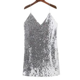 Sequins Dress Silver MY YN811081