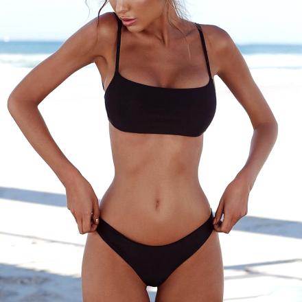 Sexy Brazilian Bikini Black MY-85004