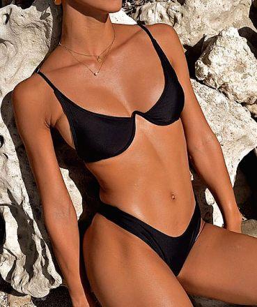 Sexy Brazilian Bikini Black MY-85220-YN196098