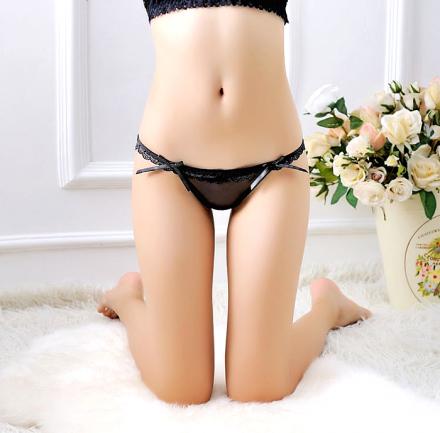 Lace Thong Black MY-868021-Black