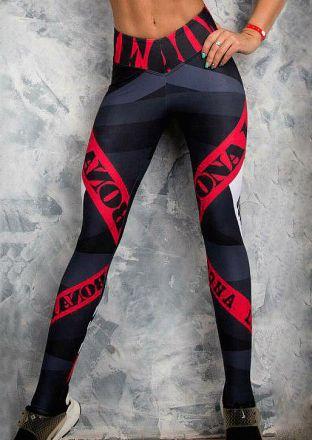 Bonna Ladies Leggings Black MY-88255-B