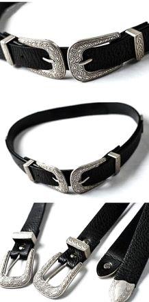 KJ Belt Black  MY 89100
