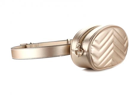 Belt Waist Fanny Bag Gold MY 89106-Gold