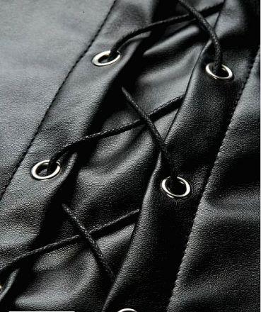 Mini Leather Skirt MY YN91101
