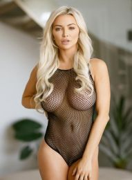 Seductive Holes Fishnet Mini Teddy Suit Lingerie 2096203