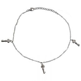 Anklet Chain Dangling Keys AB094