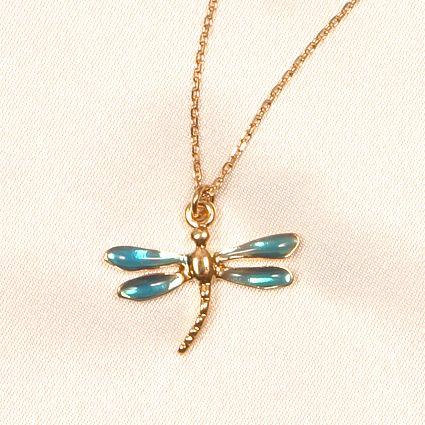Chevilles libellules Bleu CHC29