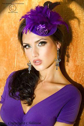 Chilirose Purple Hat