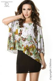 Chilirose-Butterfly Top Green CR-3353