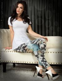 Chilirose Leggings Blue CR-3457