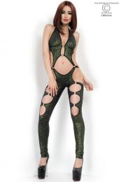 Chilirose - Coverall with metal elements - CR-3866-Green