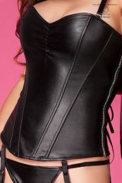 Chilirose Unique Corset with material leatherette CR 3888