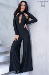 Chilirose Catsuit Black CR-4328