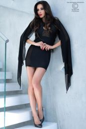 Chilirose Cocktail dress Black CR 4329