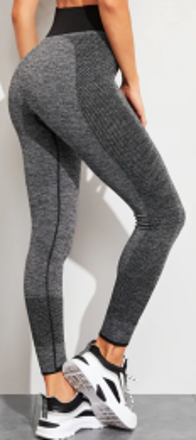 Sporty Grey Leggings MY-CT022-G