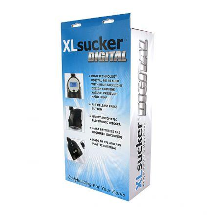 XLsucker - Digital Penis Pump E22152