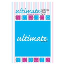 Ultimate Personal Shaver Fun Shaving Stencils A E22608