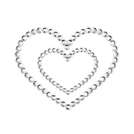 Bijoux Indiscrets - Mimi Heart Silver E23620