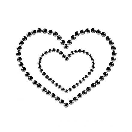 Bijoux Indiscrets - Mimi Heart Black E23621