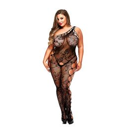 Baci - Off the Shoulder Bodystocking Queen Size E29050