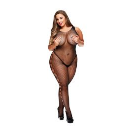 Baci - Open Side Sleeveless Bodystocking Queen Size E29052