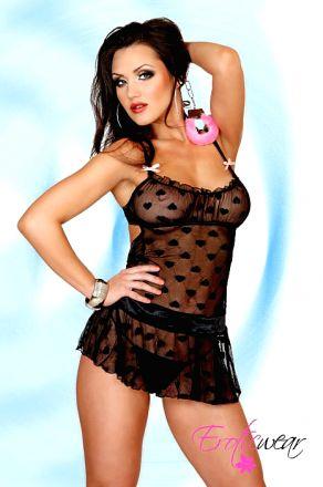 EroticWear Rosy Babydoll EW0060