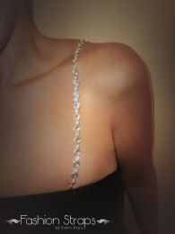 Fashionstraps - Alter Clear Jewery With Clear Diamantes In Silver Coating FS68C