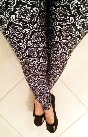 Sexy Seamless Tattoo Leggings MY-L3175
