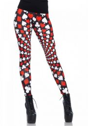 Leg Avenue Psychadelic card leggings LG13546