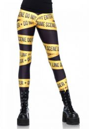Leg Avenue Crime scene leggings LG13547