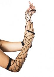 Leg Avenue Fingerless Gloves Black LG2105