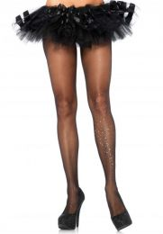 Leg Avenue Pantyhose With Rhinestone LG7902
