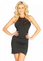 Leg Avenue Dress Victoria Black LGLO86619