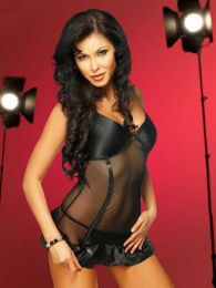 Irall Lingerie Ophelia Chemise & String LR-3600