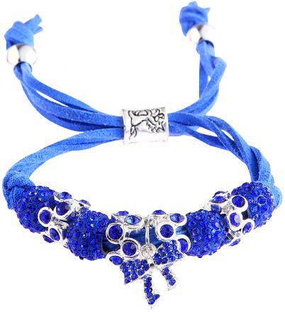 Butterfly Bracelet Blue LSB006