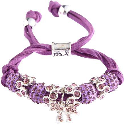 Butterfly Bracelet Purple