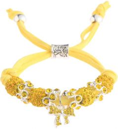 Butterfly Bracelet Lemonade Yellow LSB006