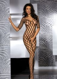Sexy Fence Net Garter Holes Bodystocking MM96126