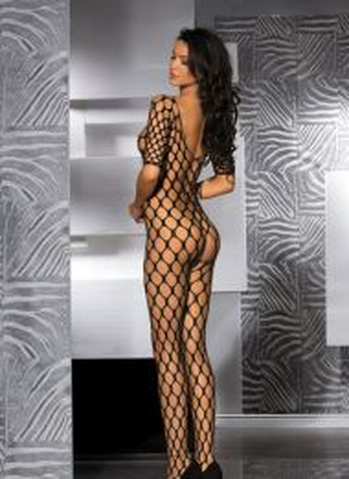 Sexy Fence Net Garter Holes Bodystocking MM-96126