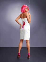 Me Seduce-Xenia Dress White MS-0012