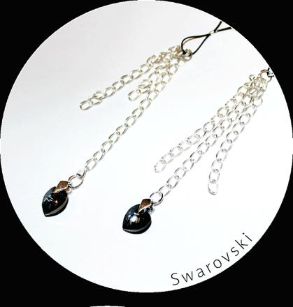 Me Seduce Nipple Dangler Swarovsky Stone ND 001 MS-0103