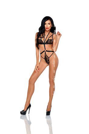 Me Seduce Zulmira Body Black MS-0466