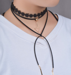 Neckband Black/Gold MYC0988