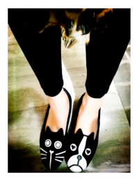 Flat Shoes Cat-Dog MY SH001