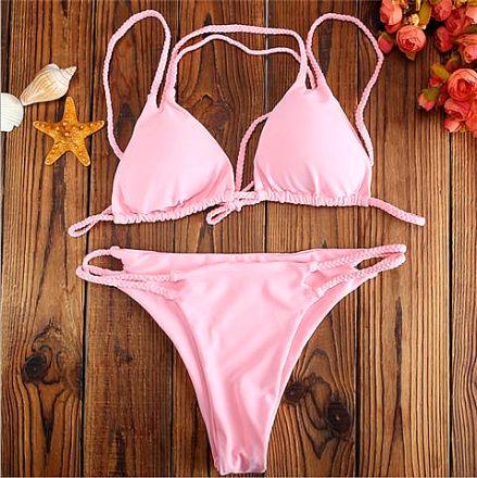 Sexy Bikini Brazil Pink YN2005162-P