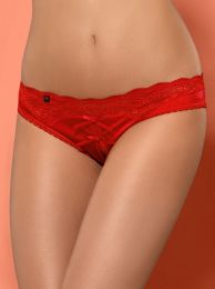 Obsessive Lovica crotchless panties red OB0764