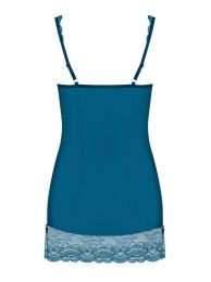 Obsessive Miamor chemise and thong blue OB 1211