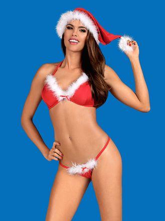 Obsessive Santastic cap red