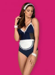 Obsessive Maid teddy blue OB4953