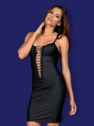 Obsessive Redella dress black OB5226